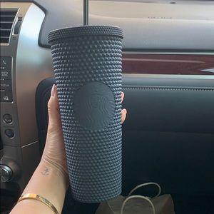 Starbucks matte black spike tumbler